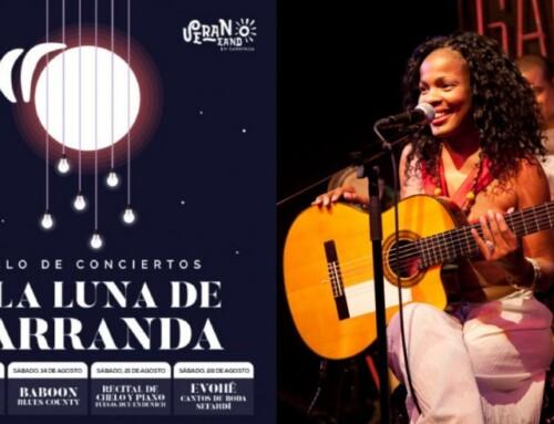 TARDE ABIERTA. Rosa Cruz inaugura el ciclo 'A la Luna de Barranda'